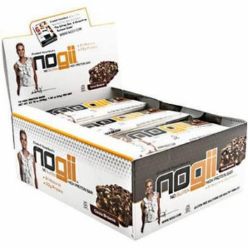 NoGii Cocoa Brownie High Protein Bars, 1.9 oz, 12 count