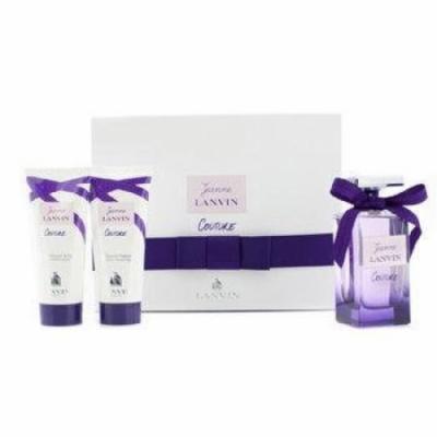 LANVIN Jeanne Lanvin Couture Coffret: Eau De Parfum Spray 100ml/3.4oz + Body Lotion 100ml/3.3oz + Shower Gel 100ml/3.3oz