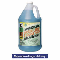 CLR PRO Commercial Drain Line & Grease Trap Treatment, 1 gal Bottle