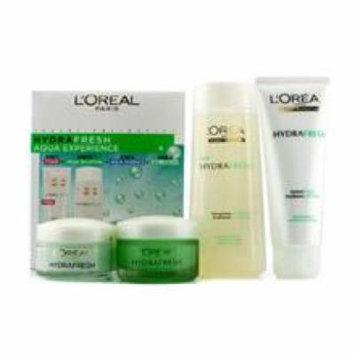 L'Oréal Paris Hydrafresh Aqua Experience Mask-In Lotion + Gel Foam + Aqua-Essence + Gel-Cream