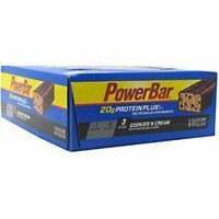 PowerBar ProteinPlus Cookies n Cream Protein Bars, 2.15 oz, 15 count