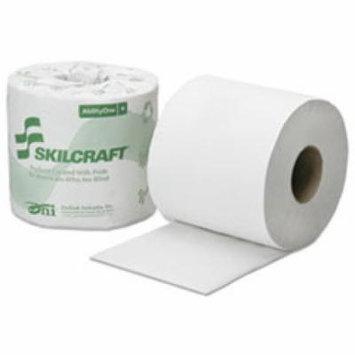 8540016308728 Toilet Tissue, 1-Ply, White, 4 x 3 3/4, 1000/Roll,