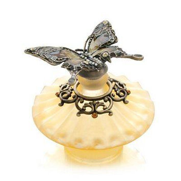 Welforth Amber Butterfly Decorative Perfume Bottle