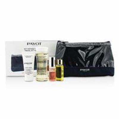 Payot Travel Kit Top To Toe Set: Cleansing Oil 50ml + Cream 15ml + Elixir D'ean Essence 5ml + Elixir Oil 10ml + Bag