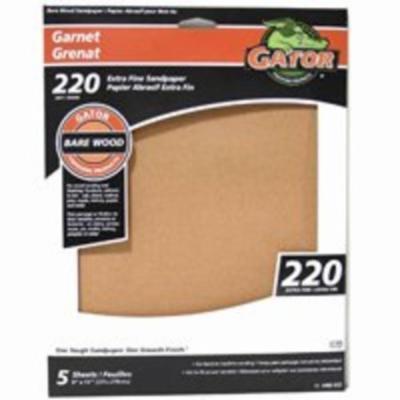 9X11 Garnet C-Wt 220 5Pk Ali Industries Garnet Sheet 4465-012 082354054496