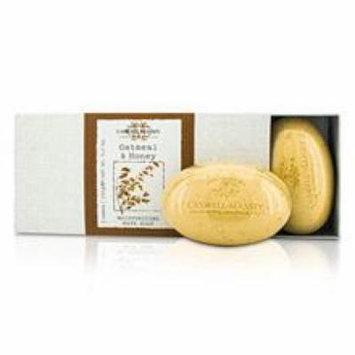 Caswell Massey Oatmeal & Honey Moisturizing Bath Soap Set