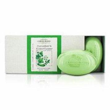 Caswell Massey Cucumber & Elderflower Moisturizing Bath Soap Set