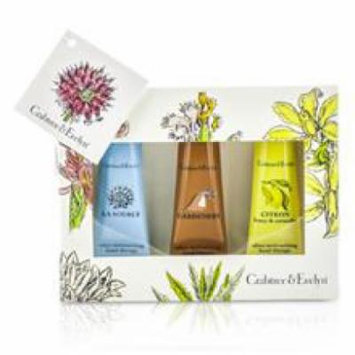 Crabtree & Evelyn Best Seller Hand Cream Set: La Source 25g + Gardeners 25g + Citron 25g