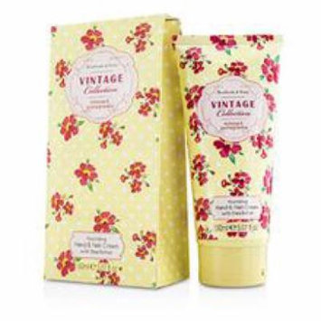 Healthcote & Ivory Vintage Mimosa & Pomegranate Nourishing Hand & Nail Cream With Shea Butter For Women