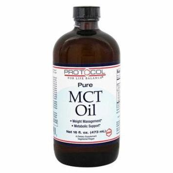 Protocol For Life Balance - Pure MCT Oil - 16 oz.