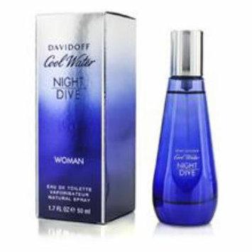 DAVIDOFF Cool Water Night Dive Woman Eau De Toilette Spray For Women