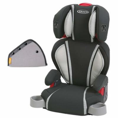Graco Highback TurboBooster Booster Car Seat with Seat Belt Adjuster, Glacier