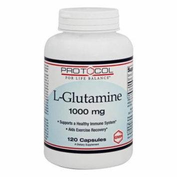 Protocol For Life Balance - L-Glutamine 1000 mg. - 120 Capsules