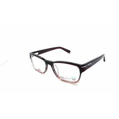 Tag Heuer Urban Phantomatik Rx Eyeglasses Frames Th 0533 004 52x18 Burgundy Red