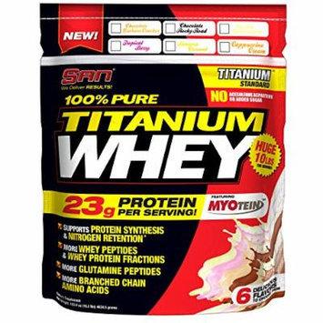 SAN Pure Titanium Whey, Chocolate Graham Cracker, 10 Pound