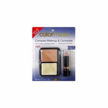 Color Mates Compact Makeup & Concealer Light (4-Pack)