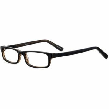 ADOLFO Boys Prescription Glasses, Goalkeeper Black Amber