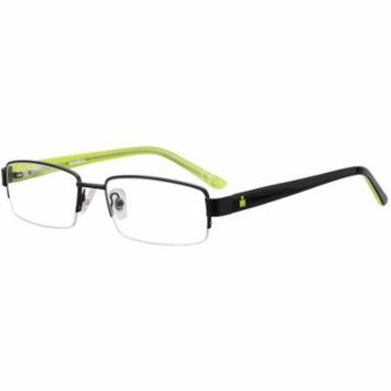 IRONMAN Mens Prescription Glasses, 102 Black
