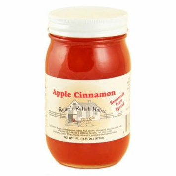 Byler's Relish House Homemade Amish Country Apple Cinnamon Jam Spread 16 oz.