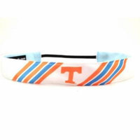 One Up Bands 1553 NCAA Tennessee Stripes Headband - Pack of 2