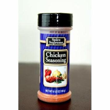 Pack of 12 Spice Supreme Chicken Seasonings 6.5 oz. #30770