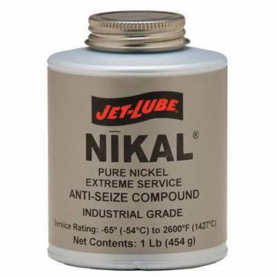 JET-LUBE 13604 Anti Seize Compound, Pure Nickel, 1 Lb