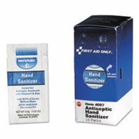 Hand Sanitizer Packets for SmartCompliance First Aid Kits, Clean, 0.9