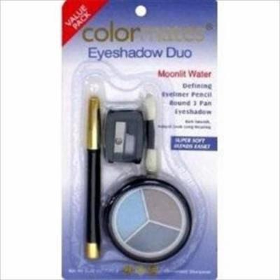 Colormates Moonlit Water Eyeshadow Value Pack - Eyeliner, 3 Eyeshadows, Sharpener