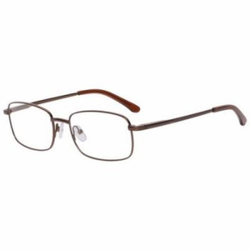 Generic Mens Prescription Glasses, WMSM107 Shiny Brown