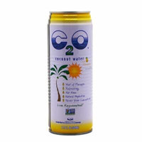 C2O Pure Coconut Water, Pineapple juice & Coconut Pulp, 17.5 oz - 12 per Case