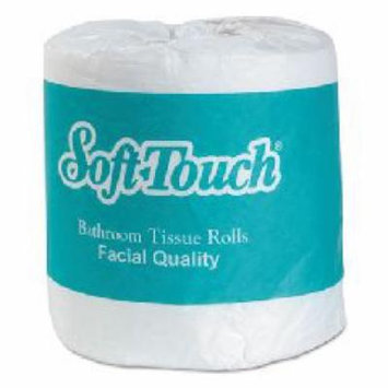 Soft Touch Bath Tissue, 2-Ply, White, Individually Wrapped,
