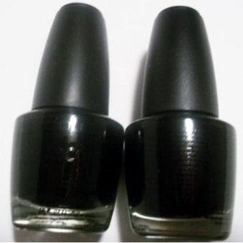 LA. Colors Nail Polish Lacquer Black Velvet (2) 0.44 FL. OZ.