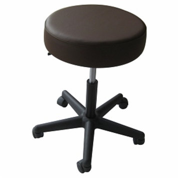 Sivan Health & Fitness Sivan Health and Fitness Rolling Adjustable Massage Stool Chocolate