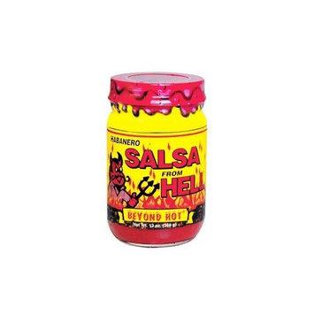 Ass Kickin Habanero Salsa From Hell - 13 oz