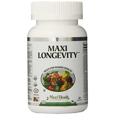 Maxi Longevity, Multi for Women Over 50, 60-Count
