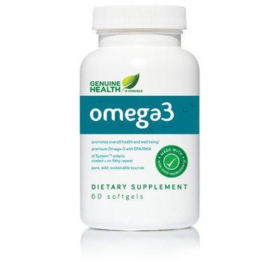O3mega Genuine Health 60 Softgel