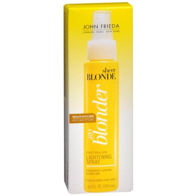 John Frieda® Sheer Blonde Go Blonder Controlled Lightening Spray