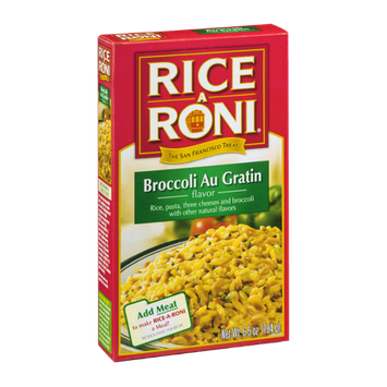 Rice-A-Roni Broccoli Au Gratin