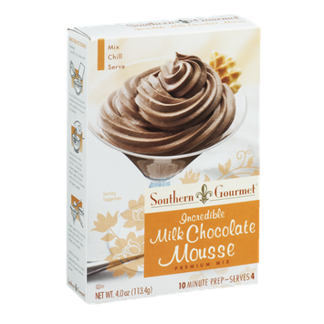 Southern Gourmet Premium Mix Incredible Milk Chocolate Mousse
