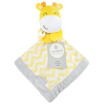 Triboro Quilt Co. Carter's Yellow Giraffe Security Blanket