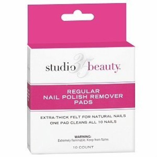 Studio 35 Beauty Regular Nail Polish Remover Pads