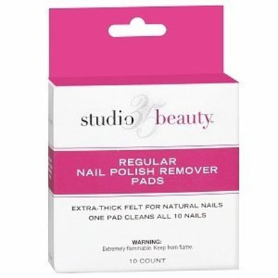 Studio 35 Beauty Regular Nail Polish Remover Pads
