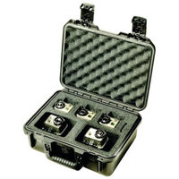 Pelican - Pelican Action Camera Protective Case (Dual Custom Foam Insert)