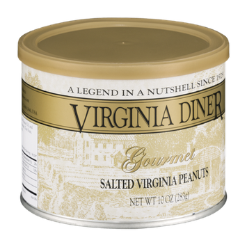Virginia Diner Gourmet Virginia Peanuts Salted