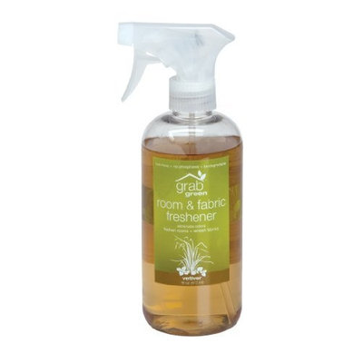 Grabgreen Room and Fabric Freshener, Vetiver, 16-Ounce
