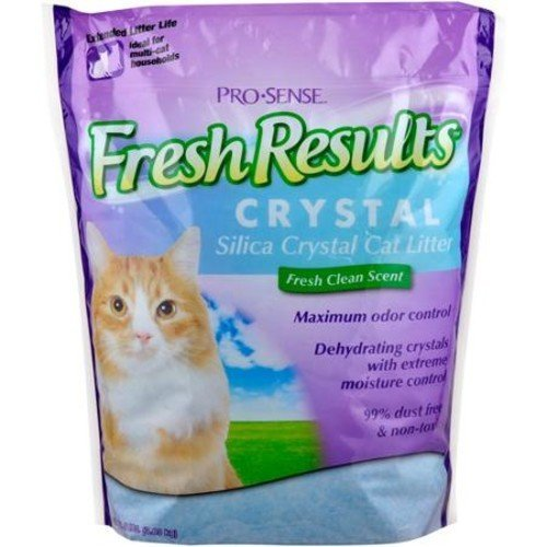 Spectrum Fresh Results Crystal Cat Litter, 8 lbs