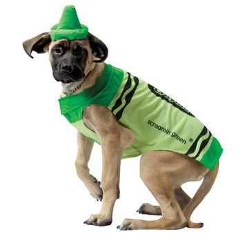 Rasta 4530-XL CRY Green Dog Costume - X-Large