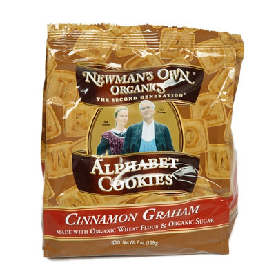 Newman's Own Organics Cinnamon Graham Alphabet Cookies