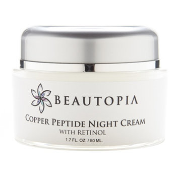 Beautopia Copper Peptide Night Cream with Retinol, 1.7 fl oz