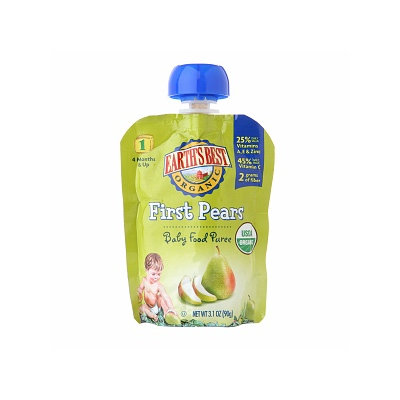 Earth's Best Baby Food Puree